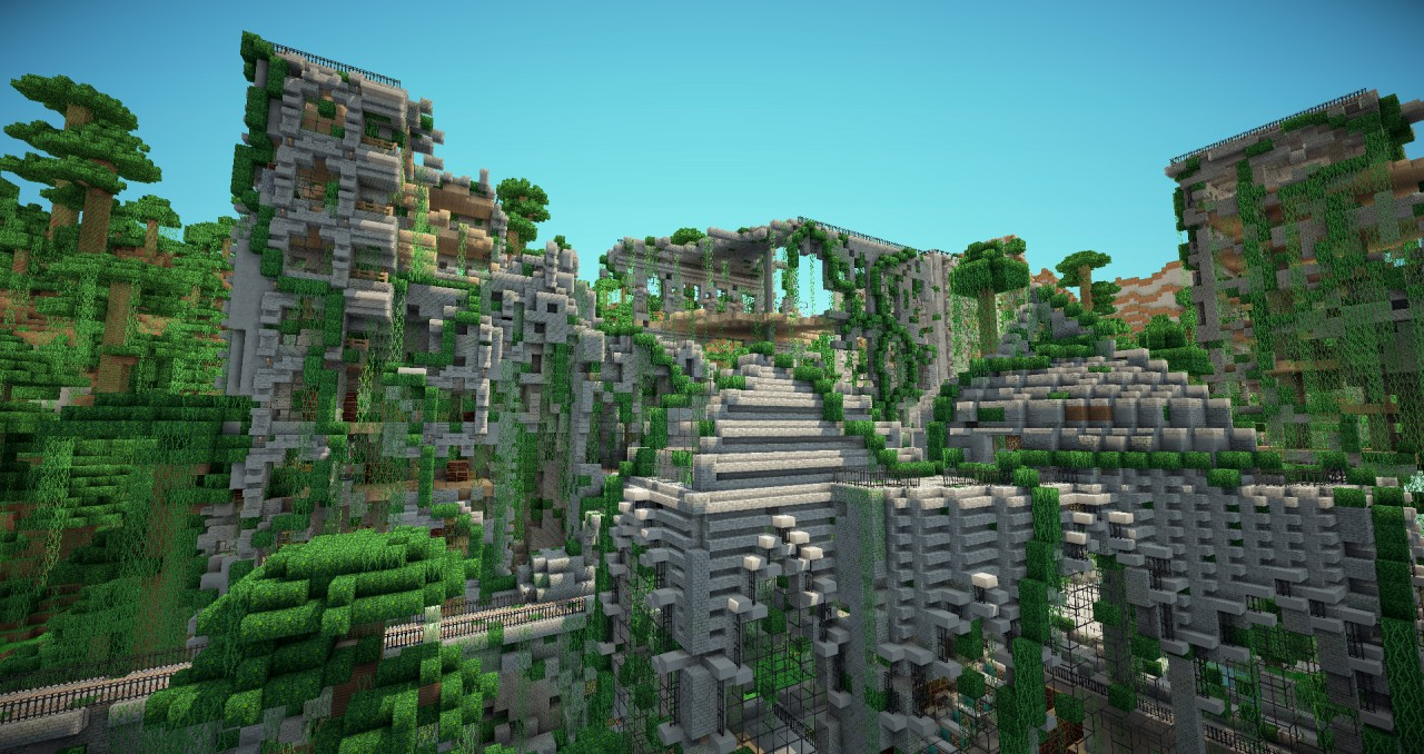 OFFICIAL MCSG MAP The Hunger Games ~ The Overgrown Arena
