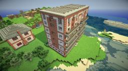 Coastal Apartment Building Minecraft Map & Project