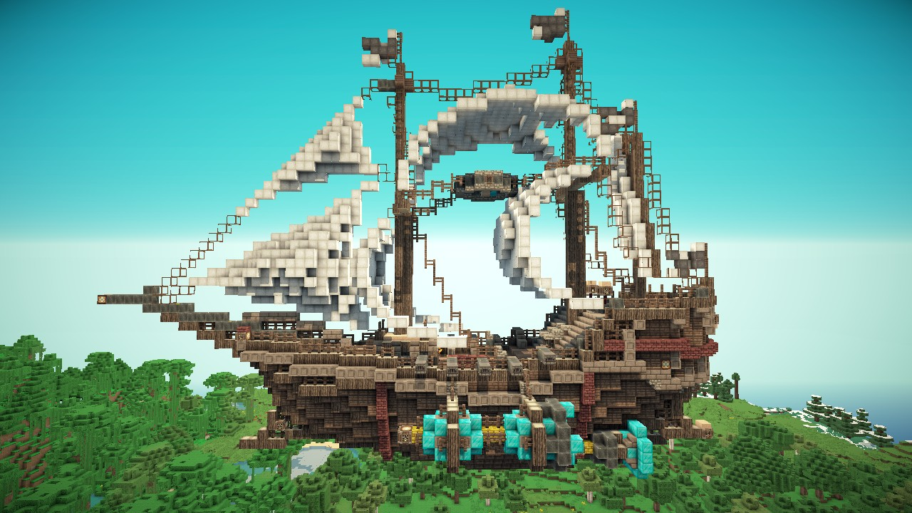 Shira Airship 222 Subscriber Special Minecraft Project