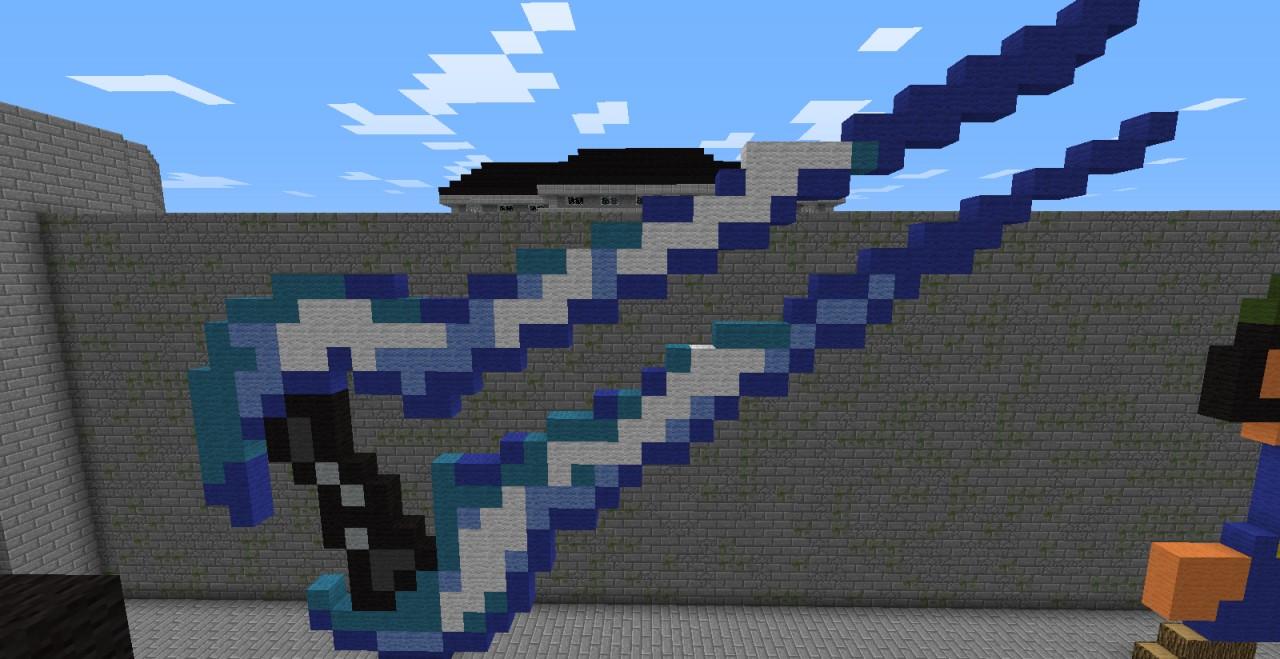 minecraft sword pixel art