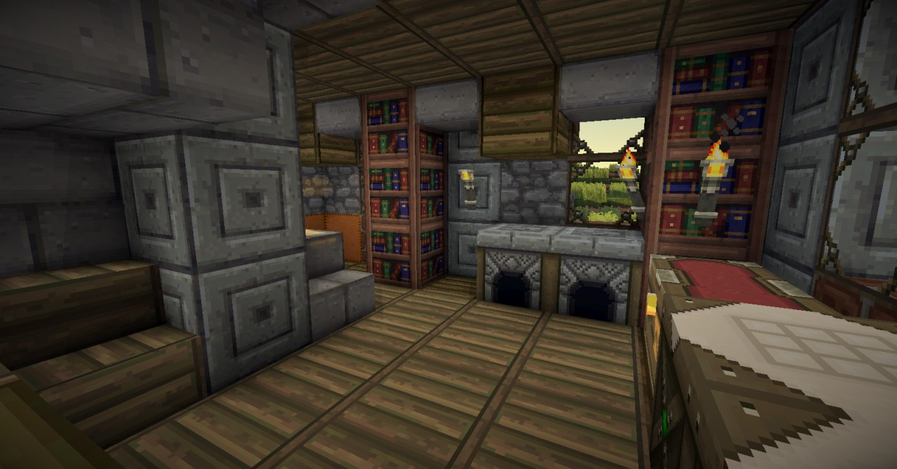Fantasy Medieval HousePractice3InteriorsWITH DOWNLOAD