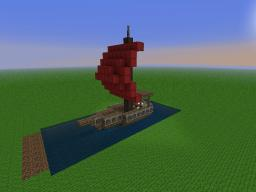 Small boat (for the Arabic Settlement) Minecraft Map & Project