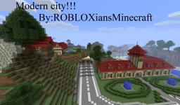 Minecraft Modern city! Minecraft Project