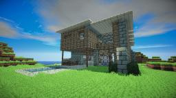 Modern Oceanside House Minecraft Map & Project
