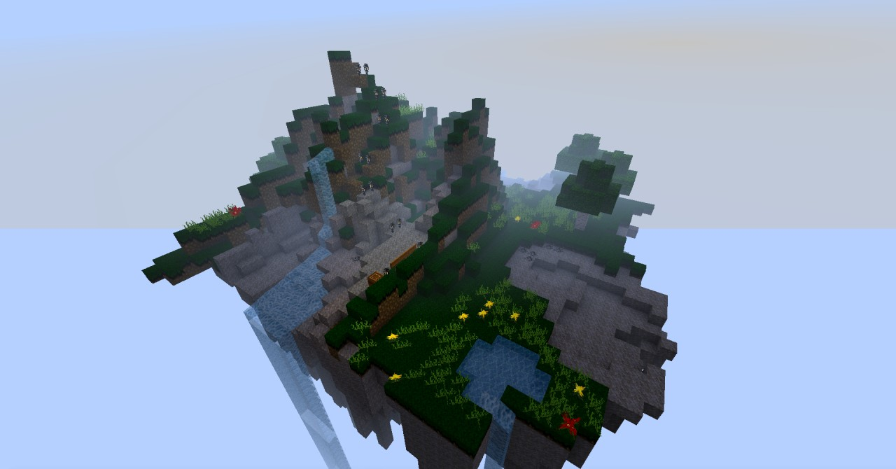 Sky Mountain SURVIVAL Minecraft Project