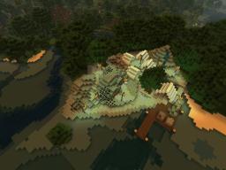 Mining Camp/Blackmarket Hub Minecraft Project