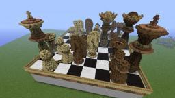 Chess battlefield. Minecraft Map & Project