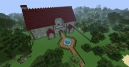 Red Brick hotel Minecraft Map & Project
