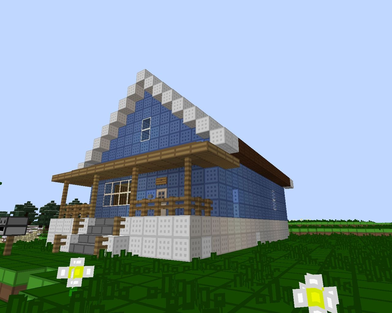 The watterson 39 s house minecraft project for Pictures for the house