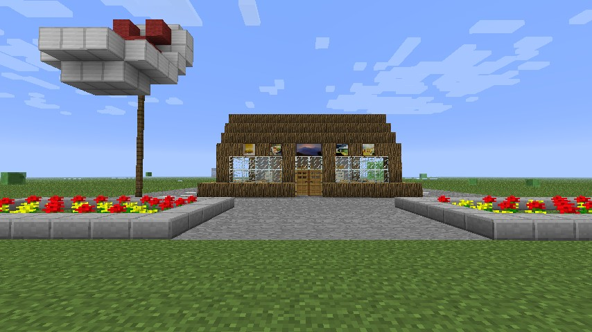Krusty Krab! Minecraft...