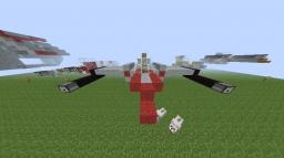 Republic Fighters - 1 to 1 scale - Zeppelin Compatible Minecraft Map & Project