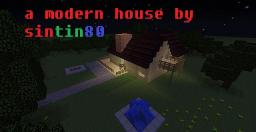 sintin80s modern house/8subbscriber special Minecraft Map & Project