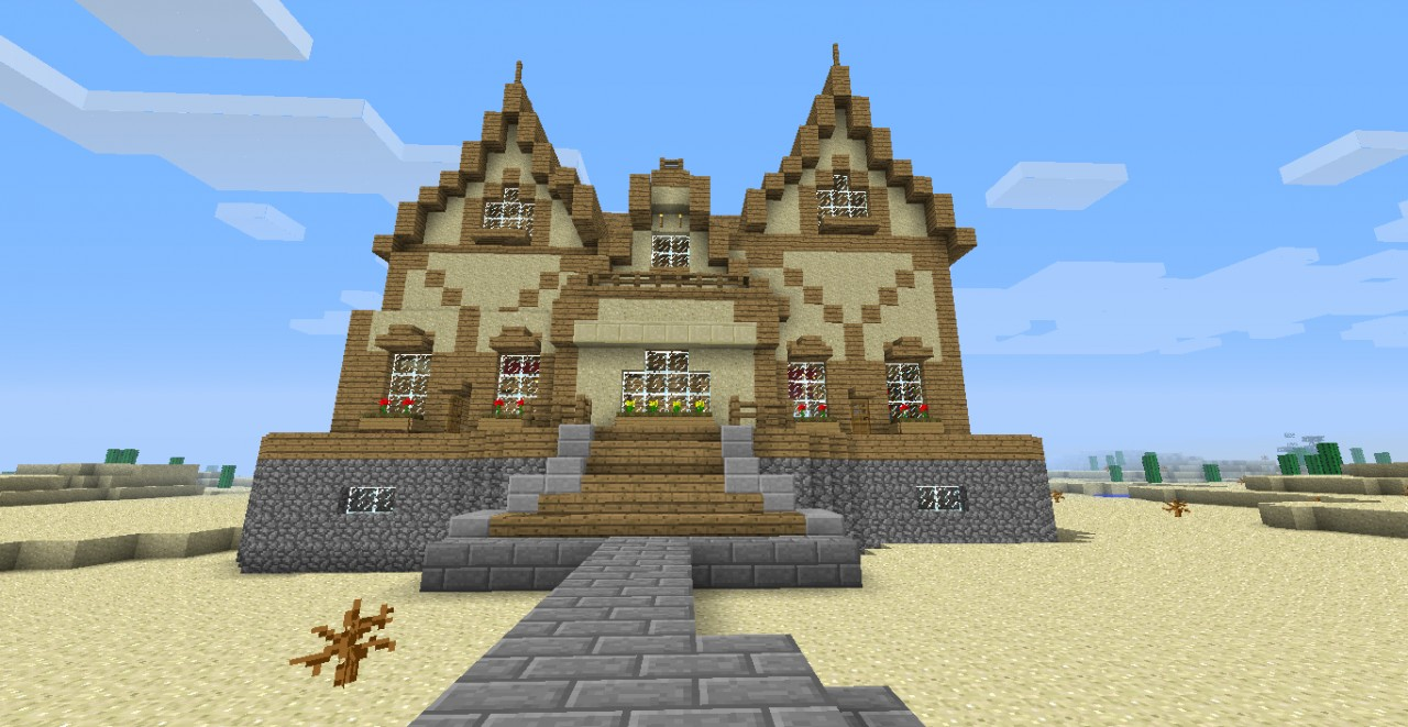 House Ideas Three Cool Awesome House Minecraft Project - Cool minecraft house idea