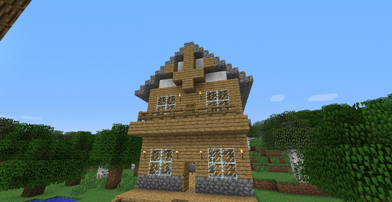House ideas three cool awesome house minecraft project for Awesome house designs