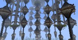 Conxunto de Vento - The Hanging City Minecraft