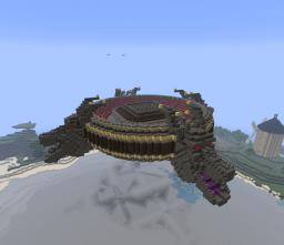 Floating Dragon Arena Minecraft Map & Project