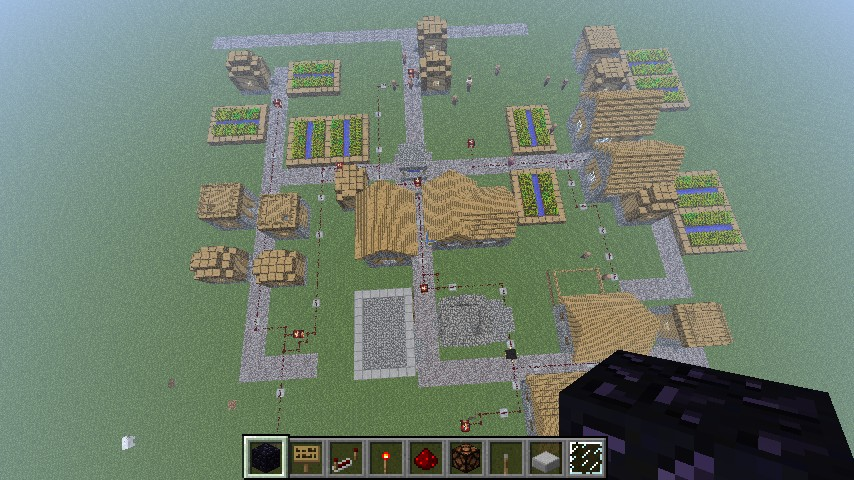 Minecraft nuke town Minecraft Project