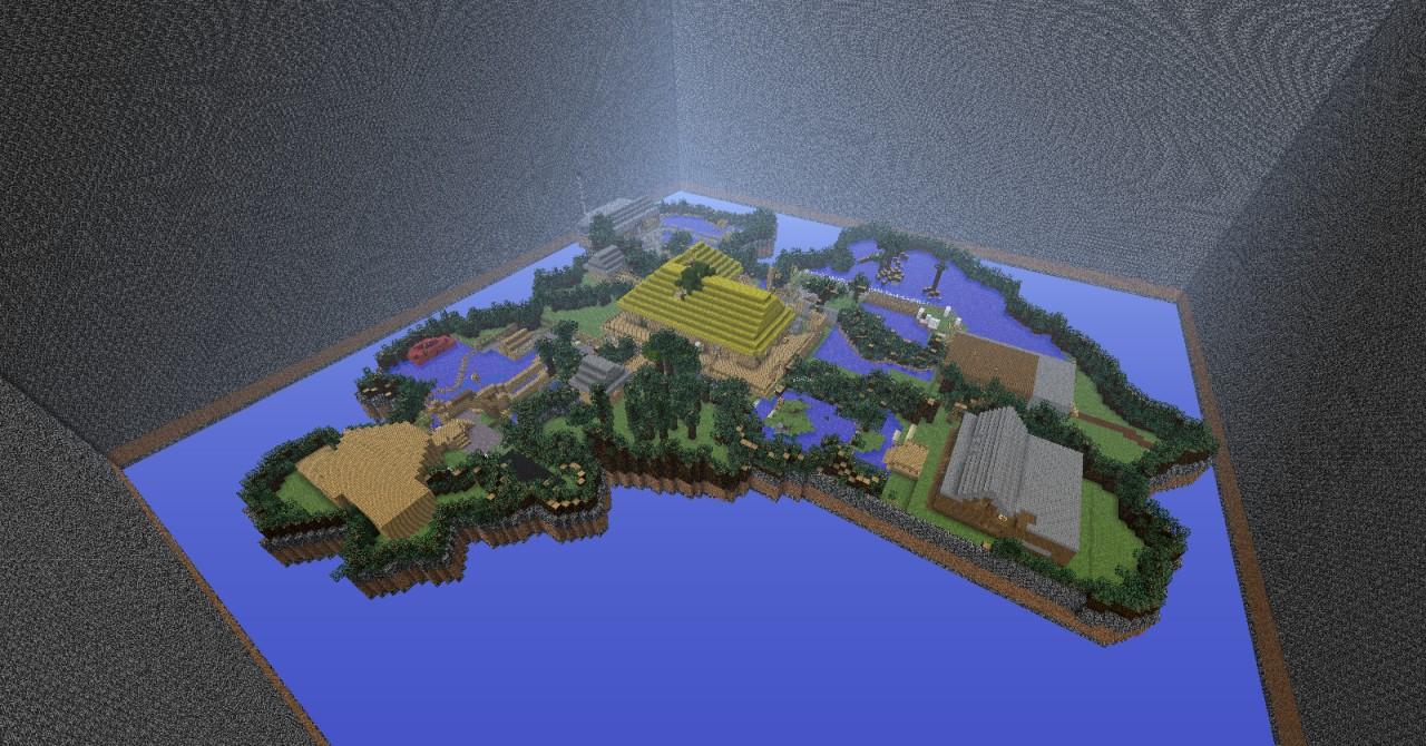 Call of Duty ZOMBIES Shi No Numa Custom Map Minecraft Project