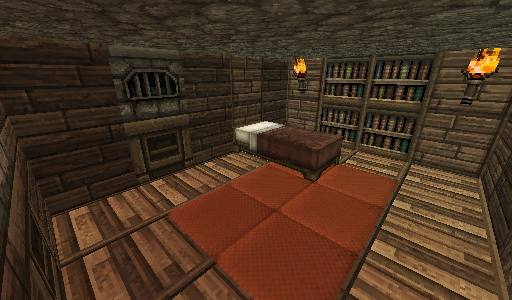 multiplayer house with basement secret attic minecraft project