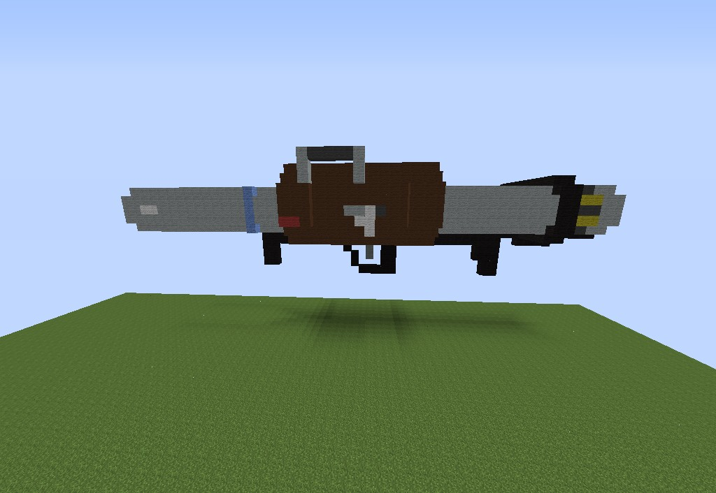 how to make a rocket launcher in minecraft