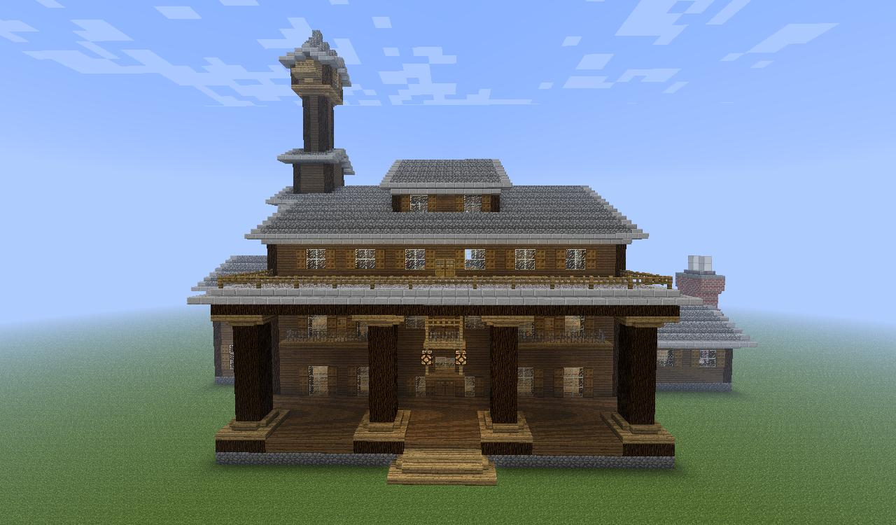 How to make a plantation house in minecraft for How to go about building a house
