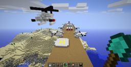 The War Zepplin Minecraft Map & Project