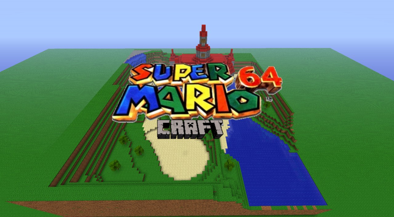 Super Mario Minecraft Edition V Minecraft Project - Minecraft server map erstellen