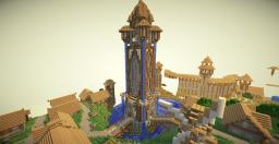 Lochwind - Giant Town Build Minecraft Map & Project