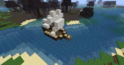 Small little boat Minecraft