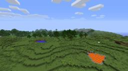 [world save]4 biomass in spawn Fertile and suitable for housing. [The extra pond, lava.] Minecraft Map & Project