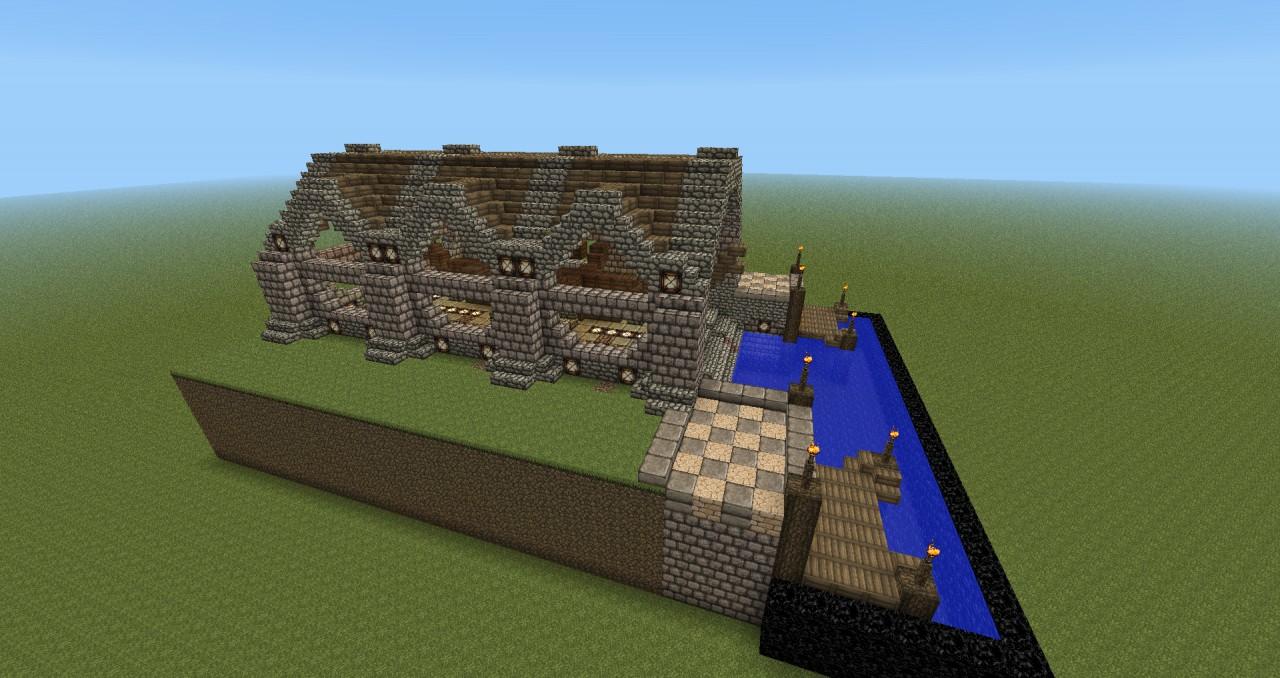 Minecraft Medieval City Download Medieval Shipyard Mine...