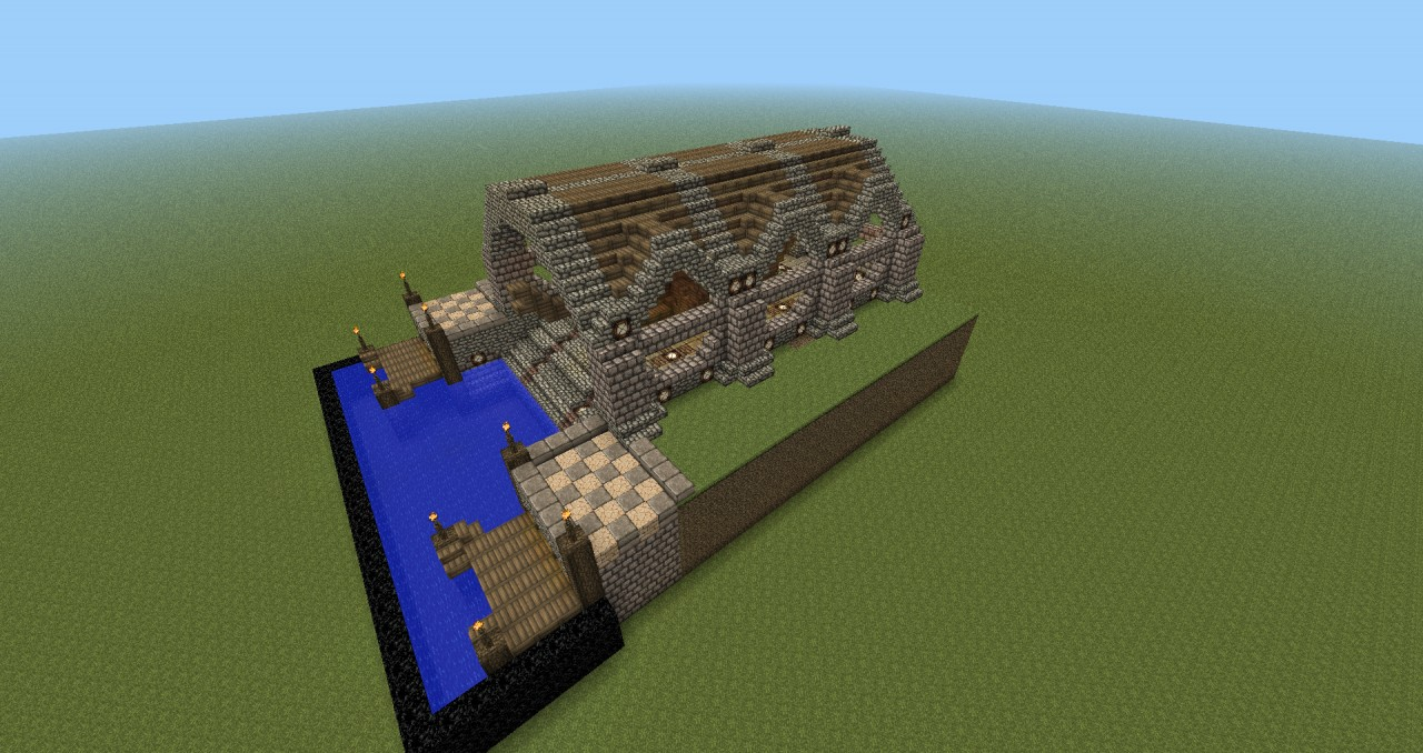 Medieval Shipyard Minecraft Project