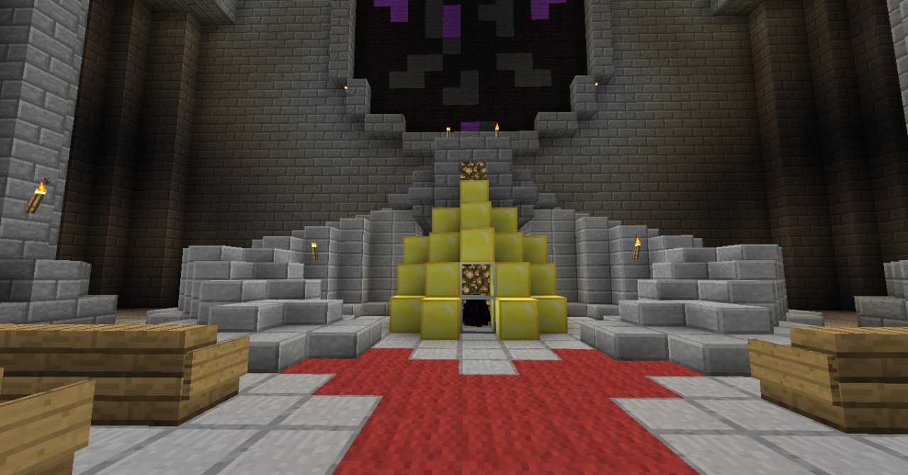 Ender Dragon Egg Cathedral Minecraft Project