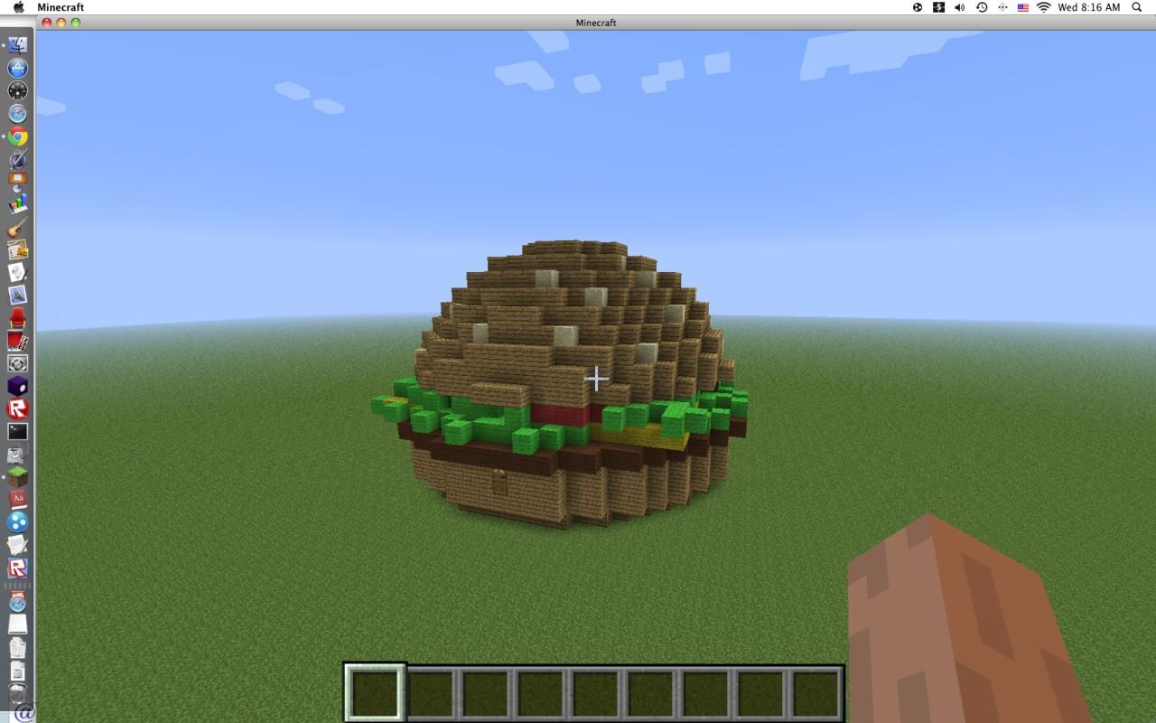 Cheeseburger Minecraft Project