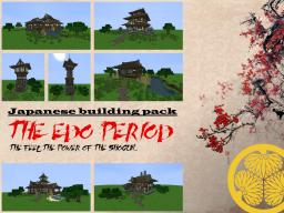 The Edo Period: A Japanese building bundle Minecraft Map & Project