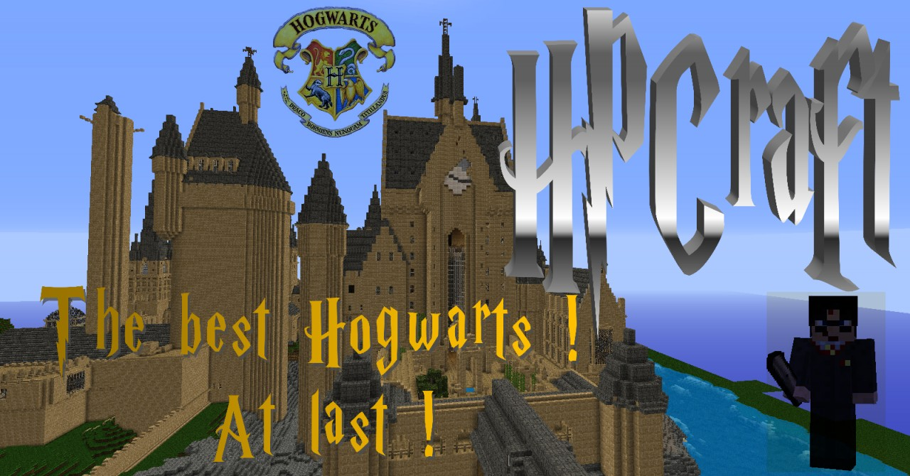 how to get hogwarts map on minecraft pe
