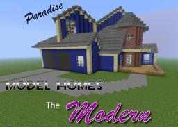Paradise Model Homes: The Modern Minecraft Map & Project