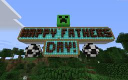 Minecraft Father's Day Sign Minecraft Map & Project