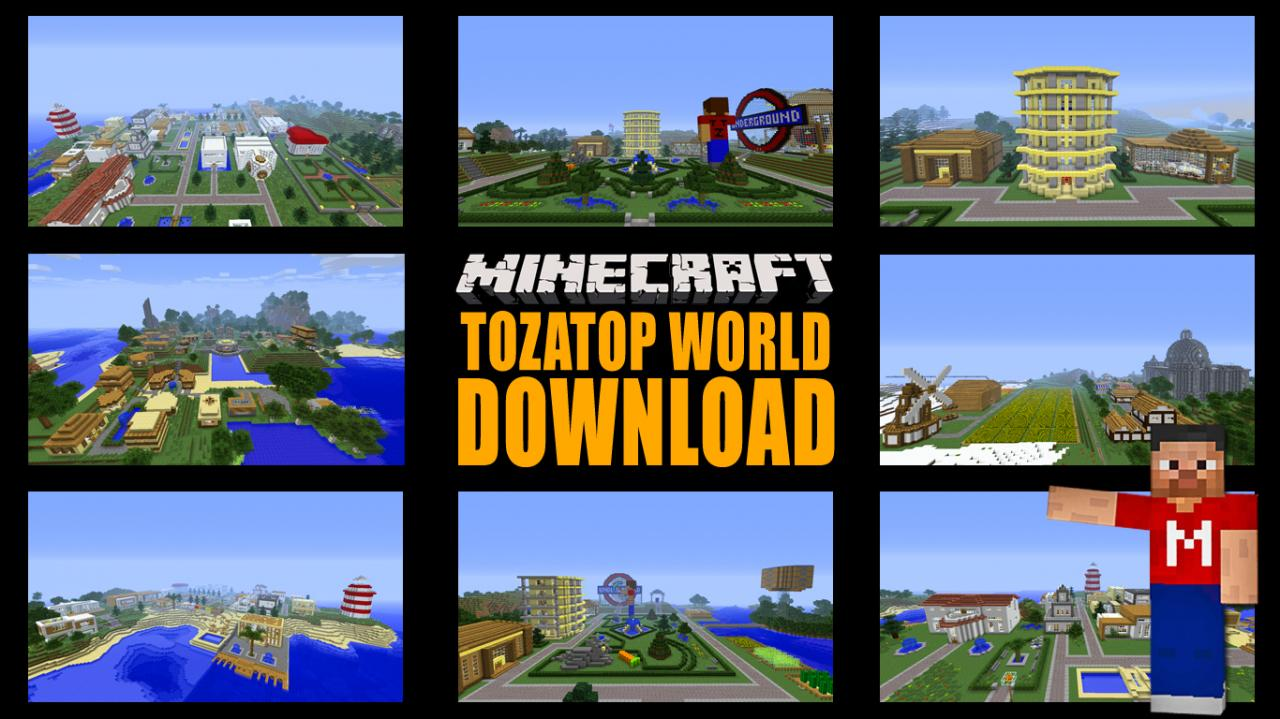 Minecraft Maps & Projects