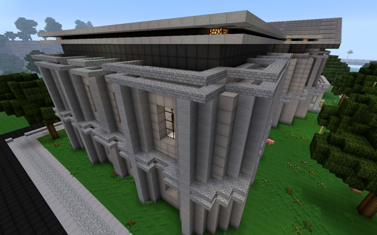 Modern City Hall City Hall From New Crafton