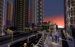 Detailed Modern City (New Crafton)  --Work In Progress-- Minecraft Project