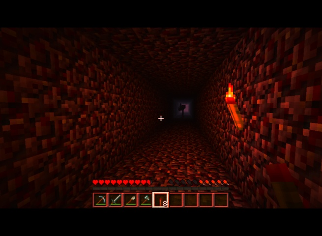 In-game Screenshot: Nightmare World 3 - Herobrine