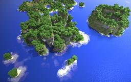 Palias Island - Custom Terrain, with ores, caves, cinematic, etc. Minecraft Project