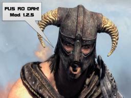 FUS RO DAH! mod 1.2.5 (Modloader) (AudioMod) (Server Compatible)