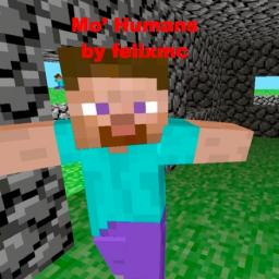 [1.3.1] Mo' Humans v3.1 - 16 types of humans in Minecraft! Updated to 1.3.1(Thanks to NuclearBanana!) 270 diamonds? Minecraft Mod