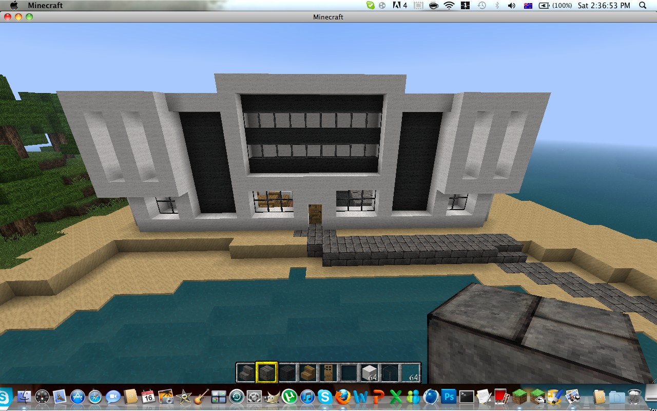 Modern house design 3 minecraft project - Design house minecraft ...