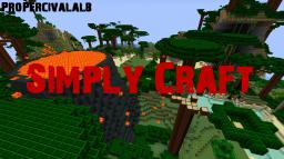 Simply Craft V2.7 For MC Version 1.3.1/12w32a - Tropicraft, ExtraBiomesXL, Random Mobs, More Bricks, More Pistons Mod Support! Minecraft Texture Pack