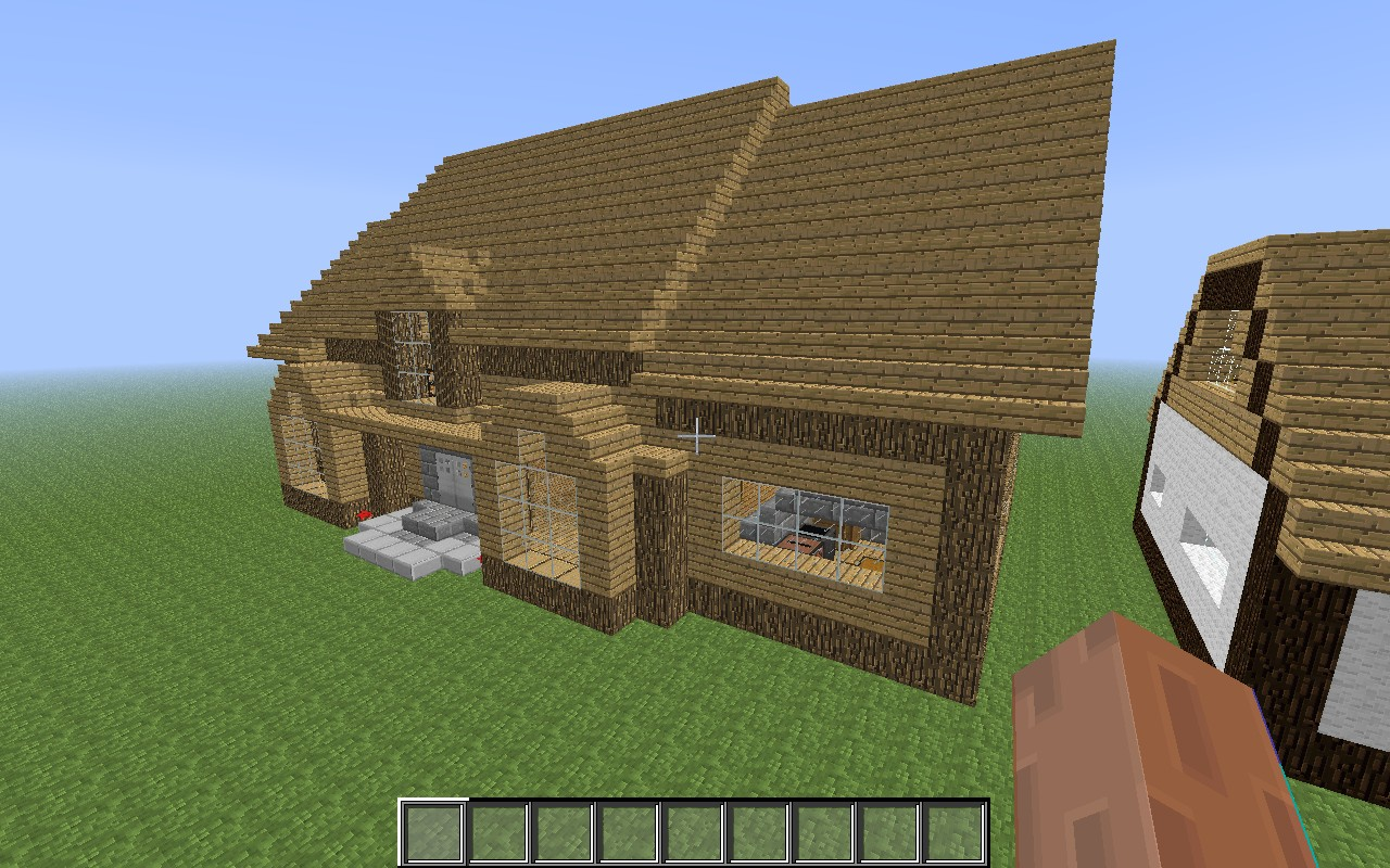 Two Minecraft Houses Minecraft Project