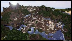 Teribithia - Medieval Castle and City Minecraft Map & Project