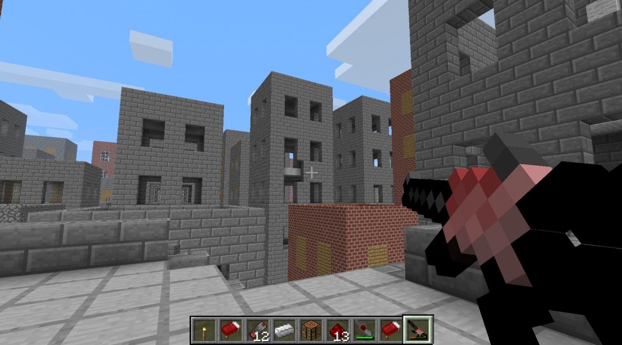 Blowing up buildings!